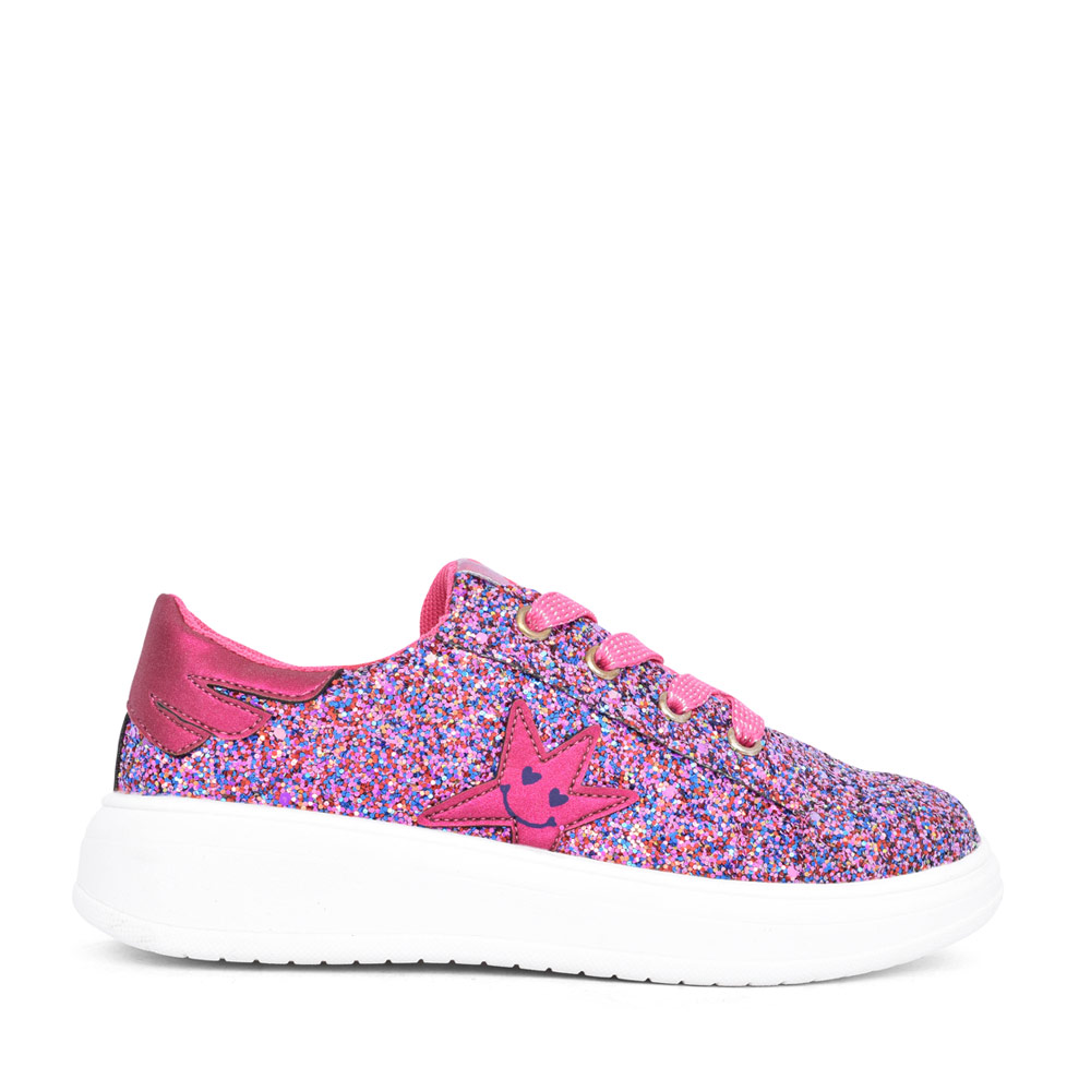 GIRLS 201992 GLITTER GIRLS TRAINER in PINK