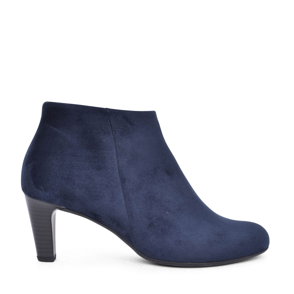 LADIES 55.85 FATALE MEDIUM HEEL ANKLE BOOT in NAVY