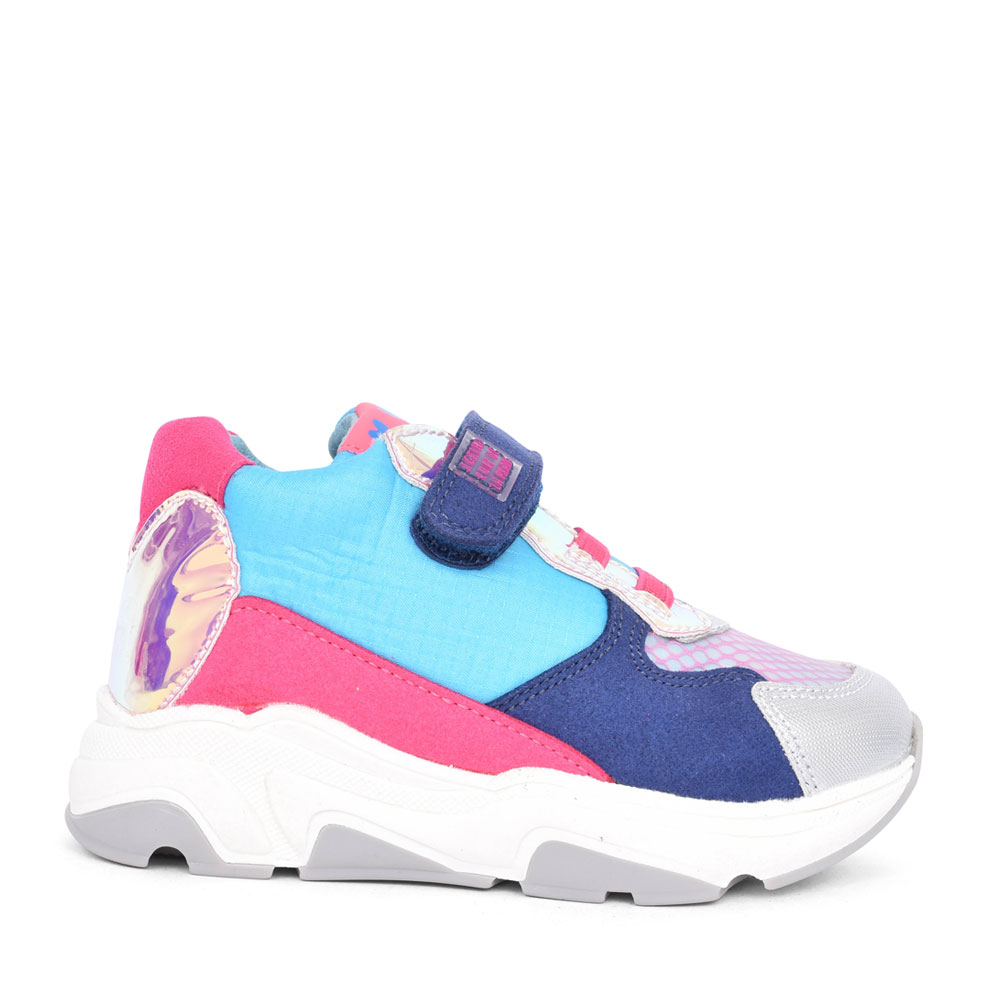 GIRLS 201951 VELCRO TRAINER in MULTI-COLOUR
