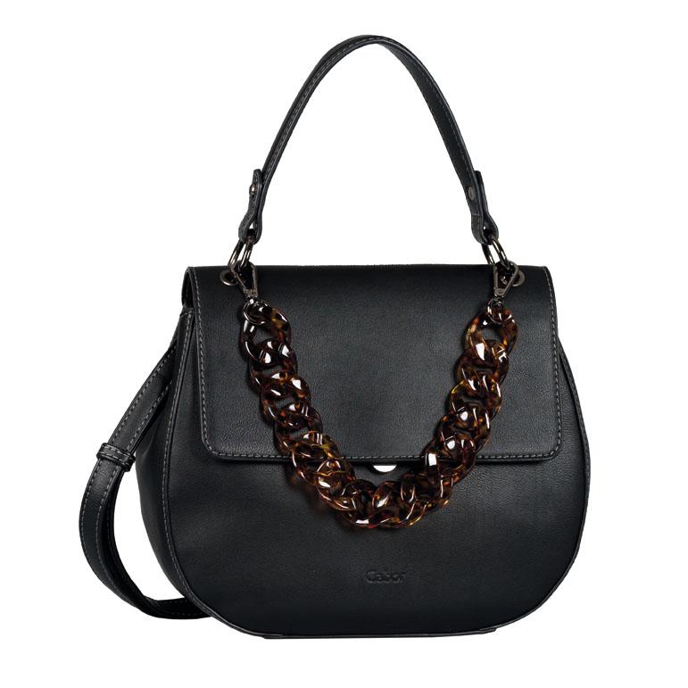 LADIES 8533 AMRA FLAP BAG in BLACK