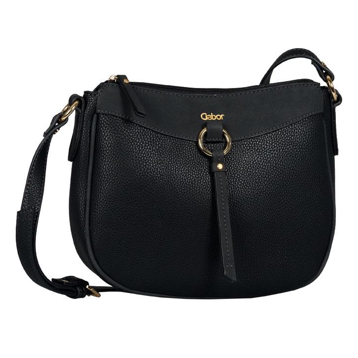 LADIES 8539 LILLIAN CROSSBODY BAG in BLACK