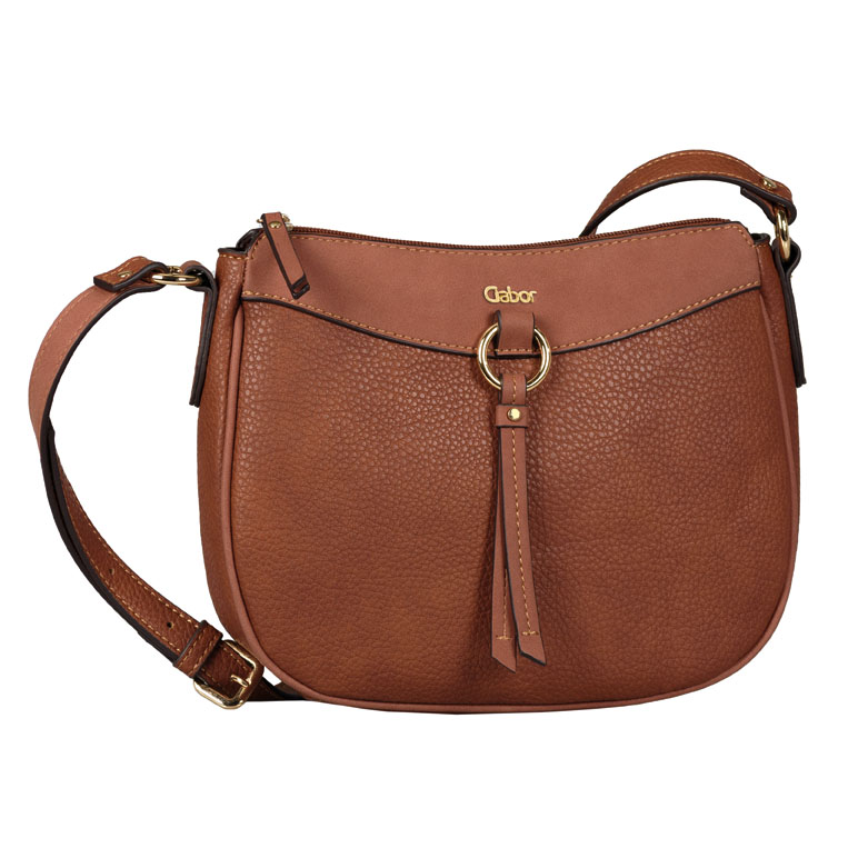 LADIES 8539 LILLIAN CROSSBODY BAG in TAN
