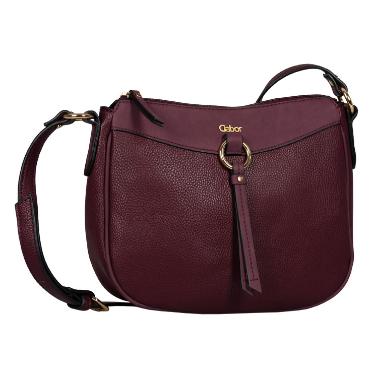 LADIES 8539 LILLIAN CROSSBODY BAG in WINE