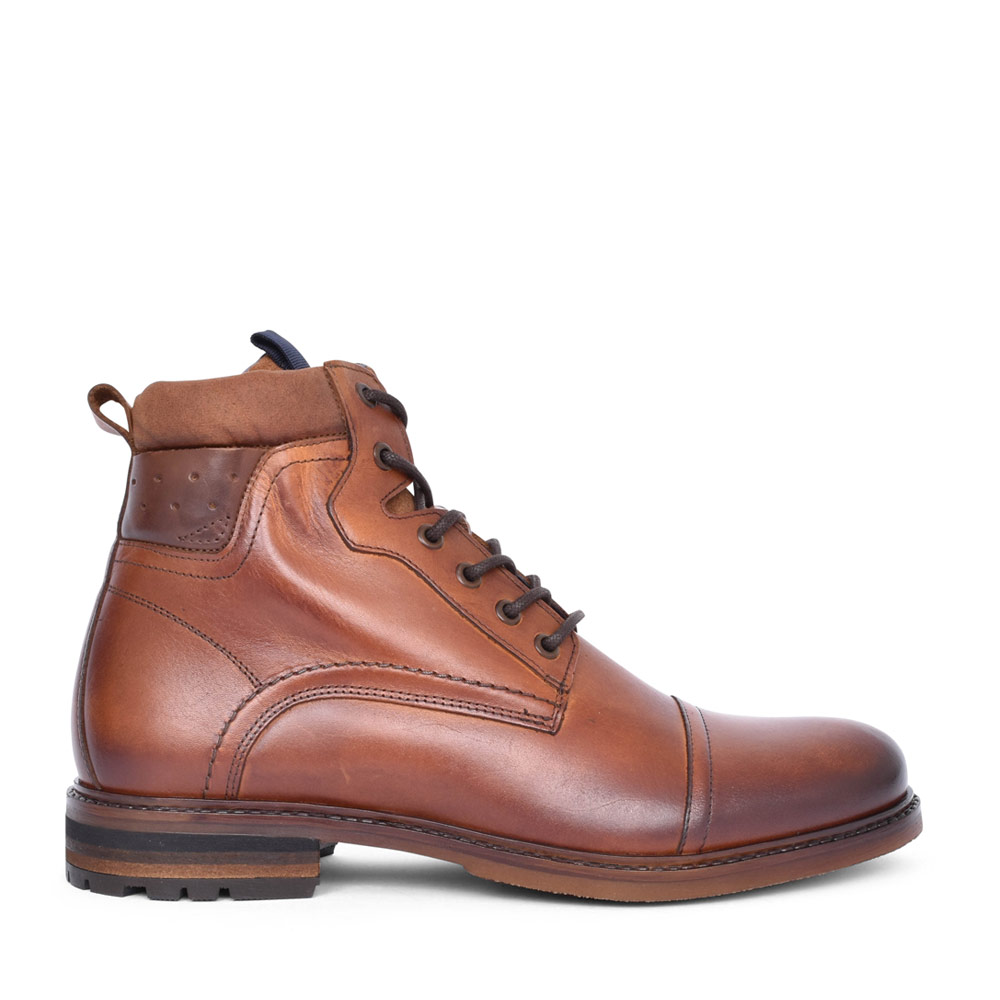 MENS ADAMSON LACED ANKLE BOOT in BROWN