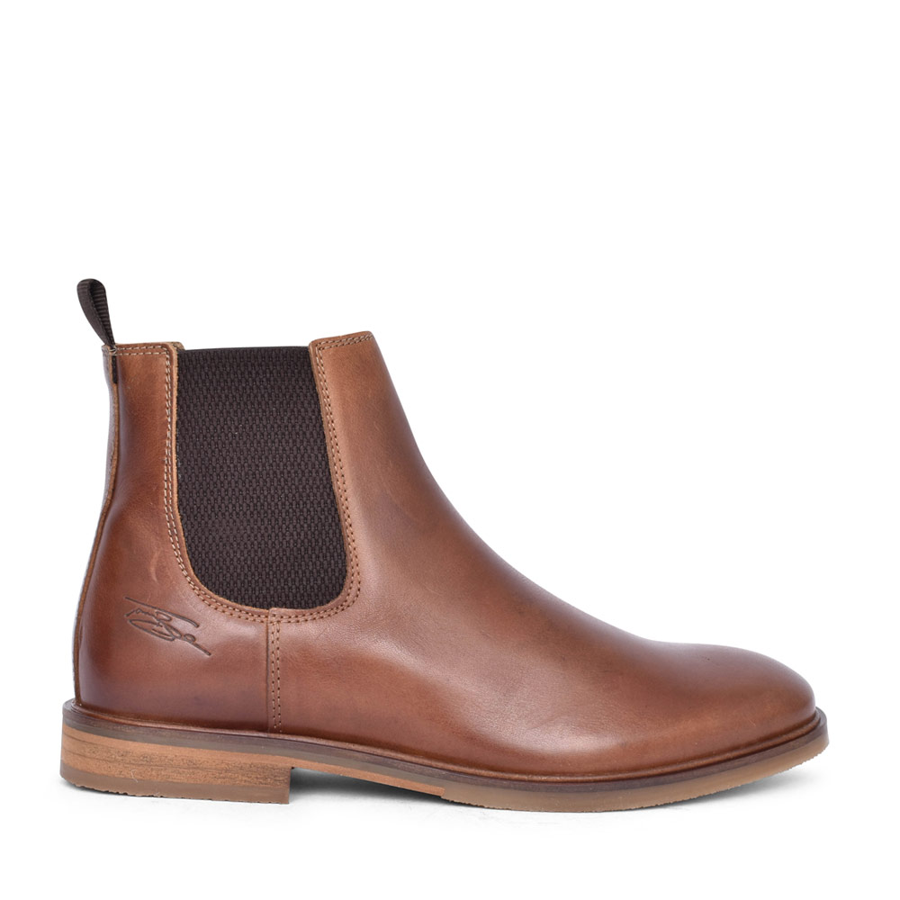 MENS BOOTH BOOTS CHELSEA BOOT  in TAN
