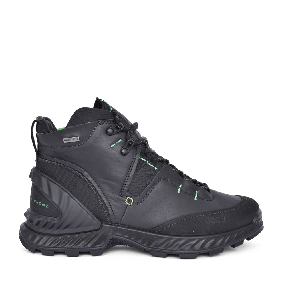 MENS 840734 EXO HIKE GORTEX WALKING BOOT in BLACK