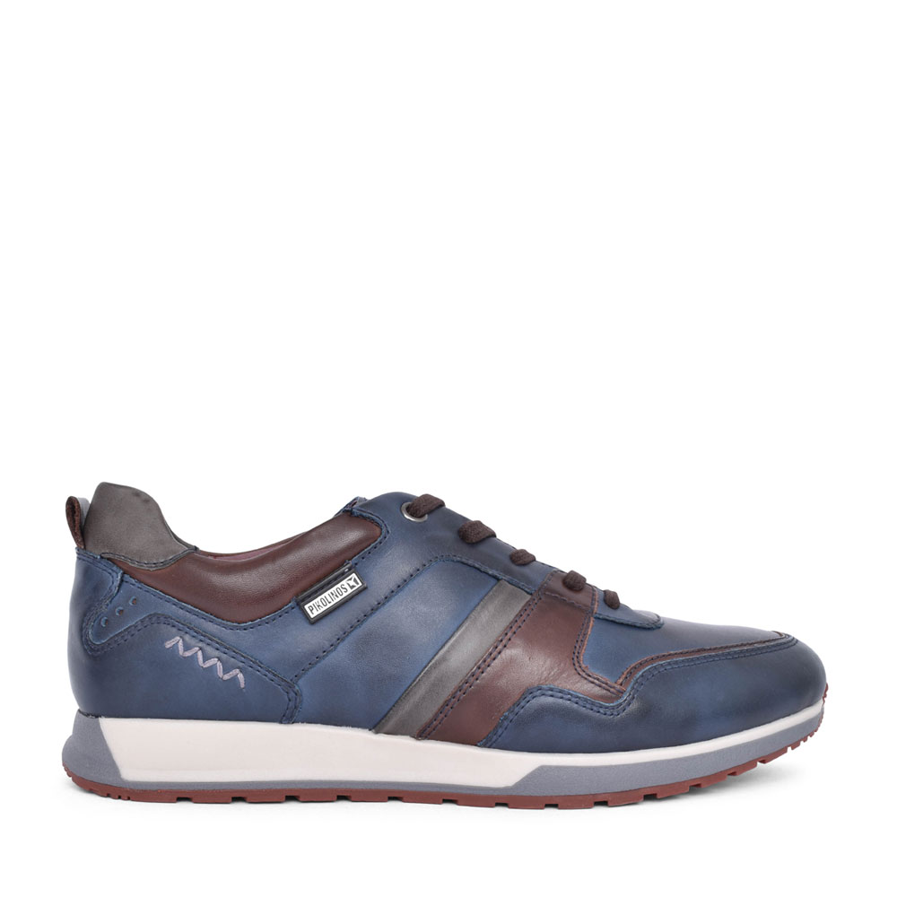 CAMBIL M5N-6344C1 LACED TRAINER in NAVY
