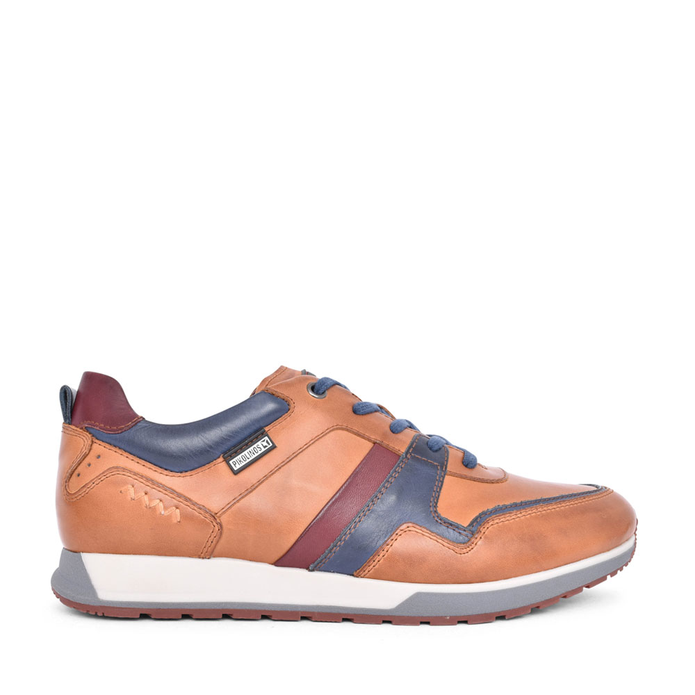CAMBIL M5N-6344C1 LACED TRAINER in TAN