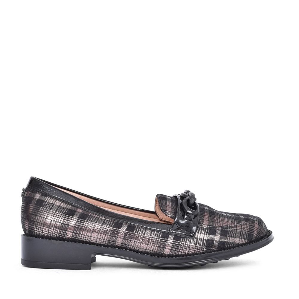 LADIES ALBE ULS223 LOAFER in PEWTER