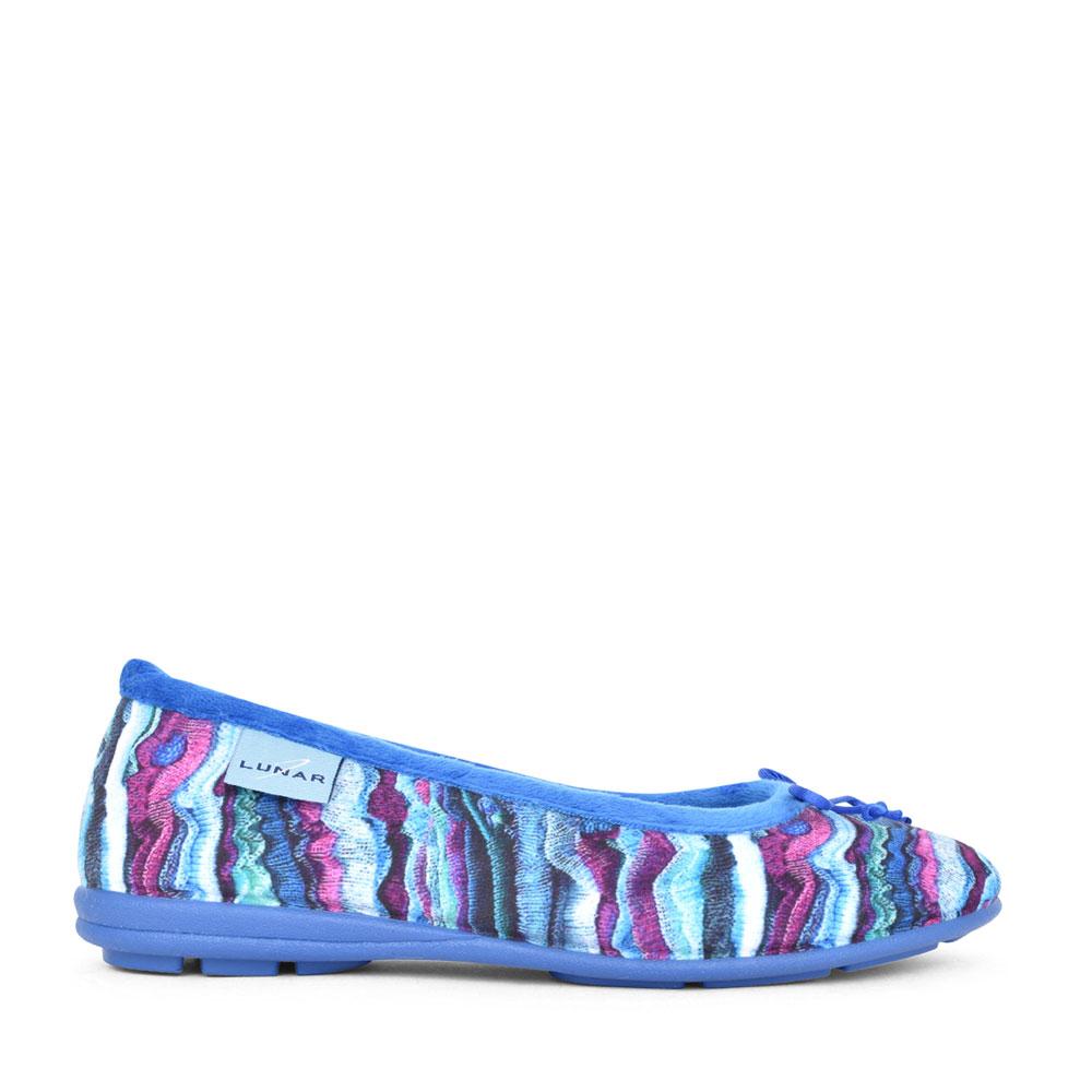 LADIES KYRA KLA127 PUMP SLIPPER in BLUE