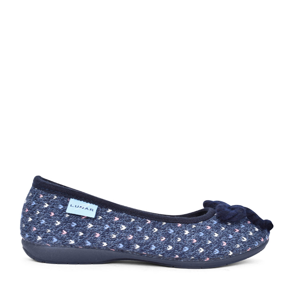 LADIES TABBY KLN174 PUMP SLIPPER in BLUE