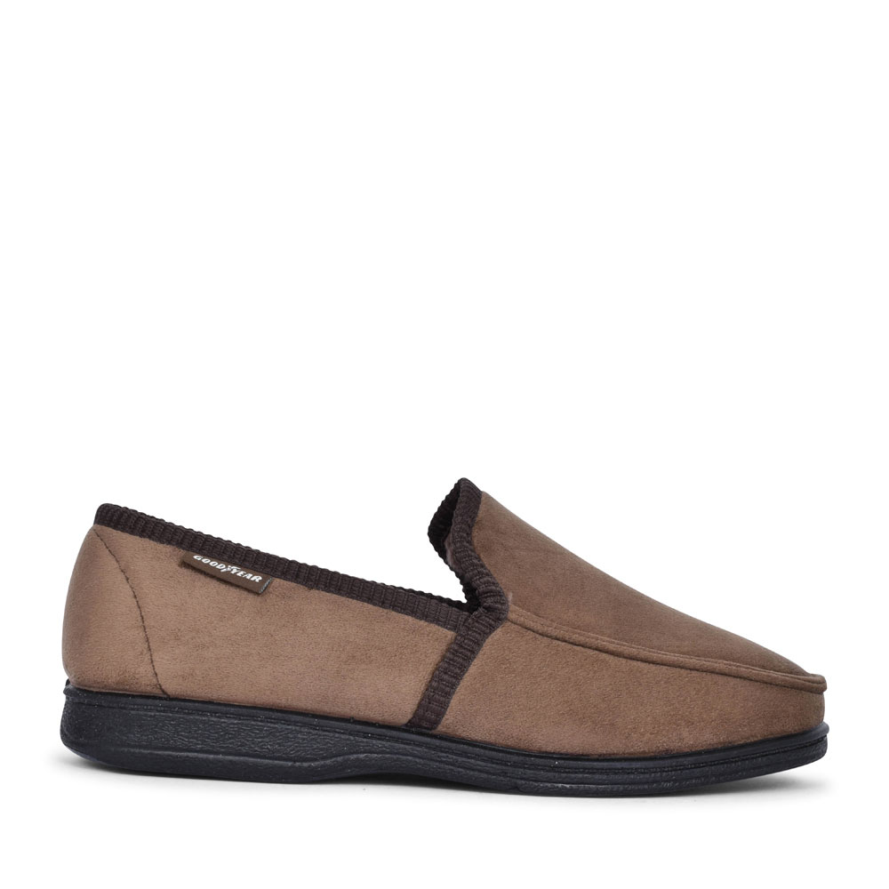 MENS EDEN KMG111 SLIPPER  in BROWN