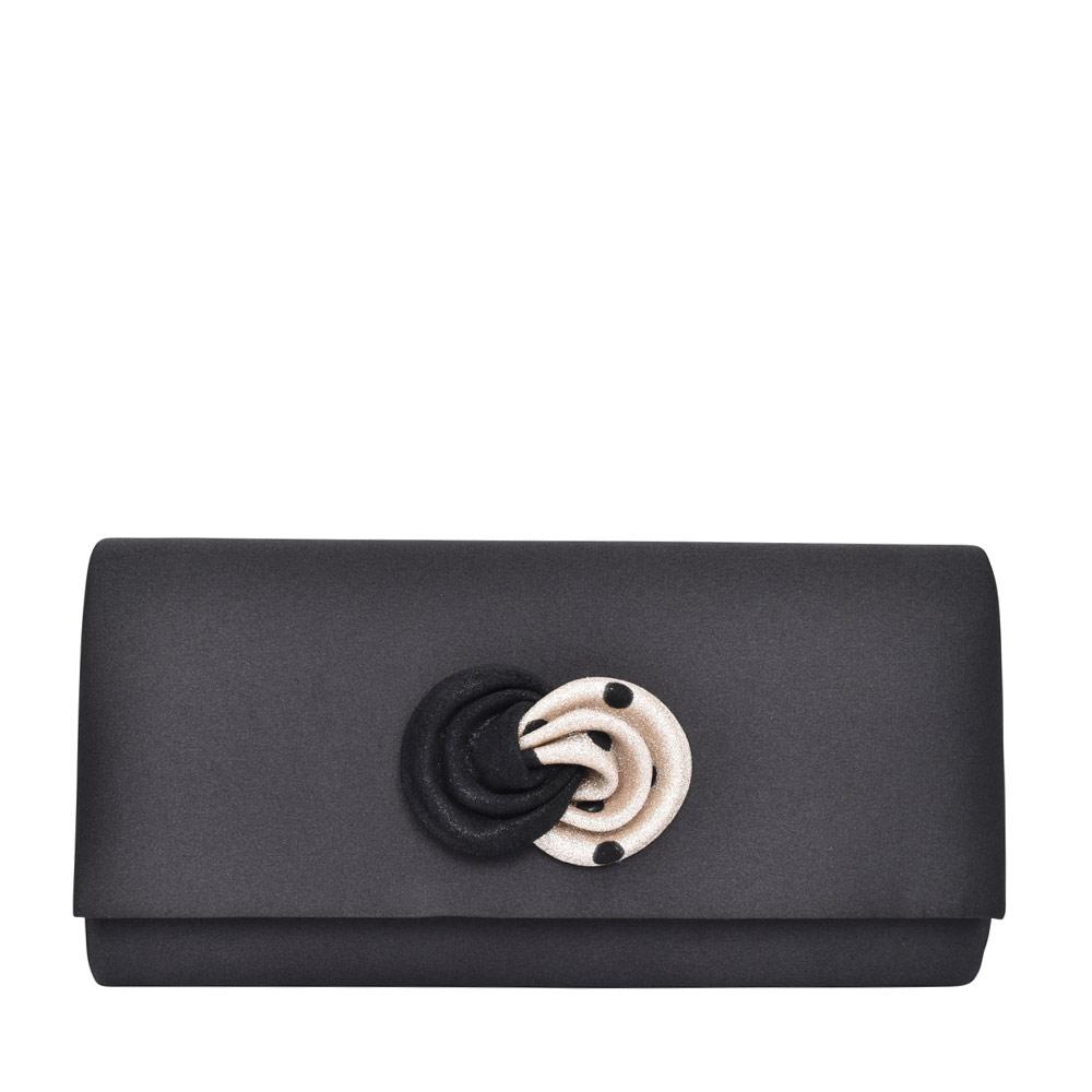 LADIES ZLR565 CLUTCH BAG in BLACK