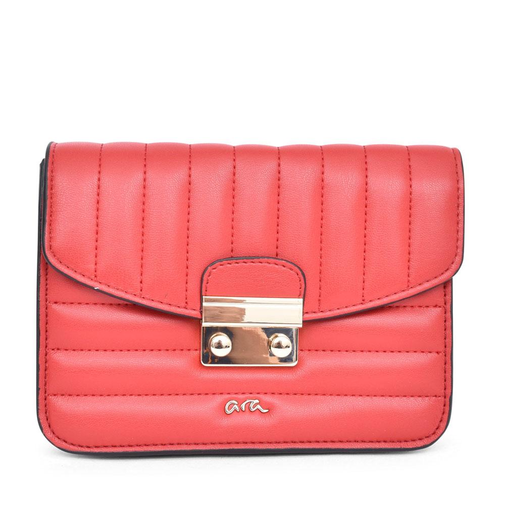 LADIES 16-21111 ALLY CROSSBODY BAG in RED
