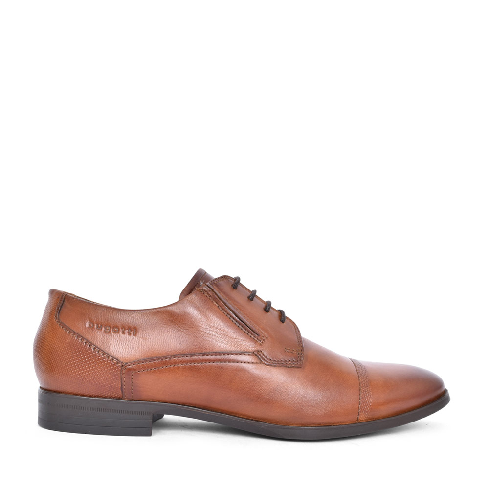 MENS 44608 FORMAL LACED SHOE in TAN