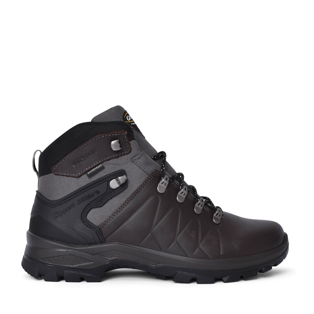 MEN'S KRATOS CMG751 LACED WALKING ANKLE BOOT in BROWN