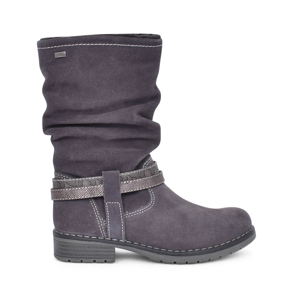 LADIES 33-17026 LONG LEG BOOT in GREY