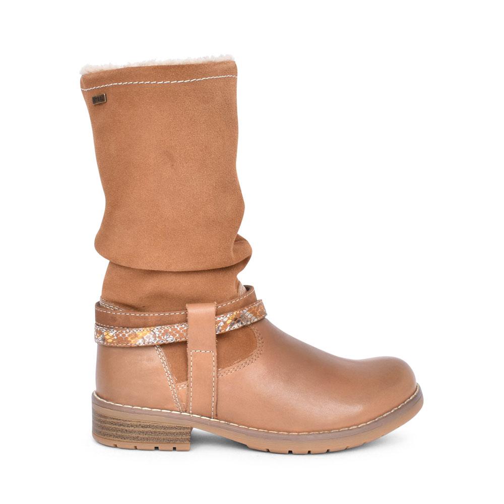 LADIES 33-17026 LONG LEG BOOT in TAN