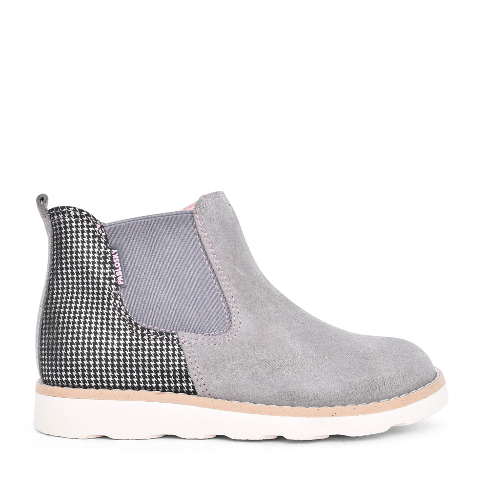 GIRLS 491956 SLIP ON ANKLE ANKLE BOOT in GREY