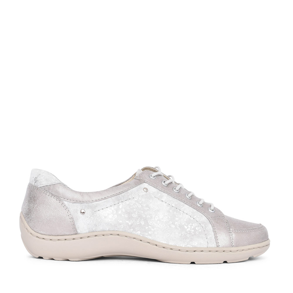 LADIES 496005 HENNI LACED SHOE in SILVER