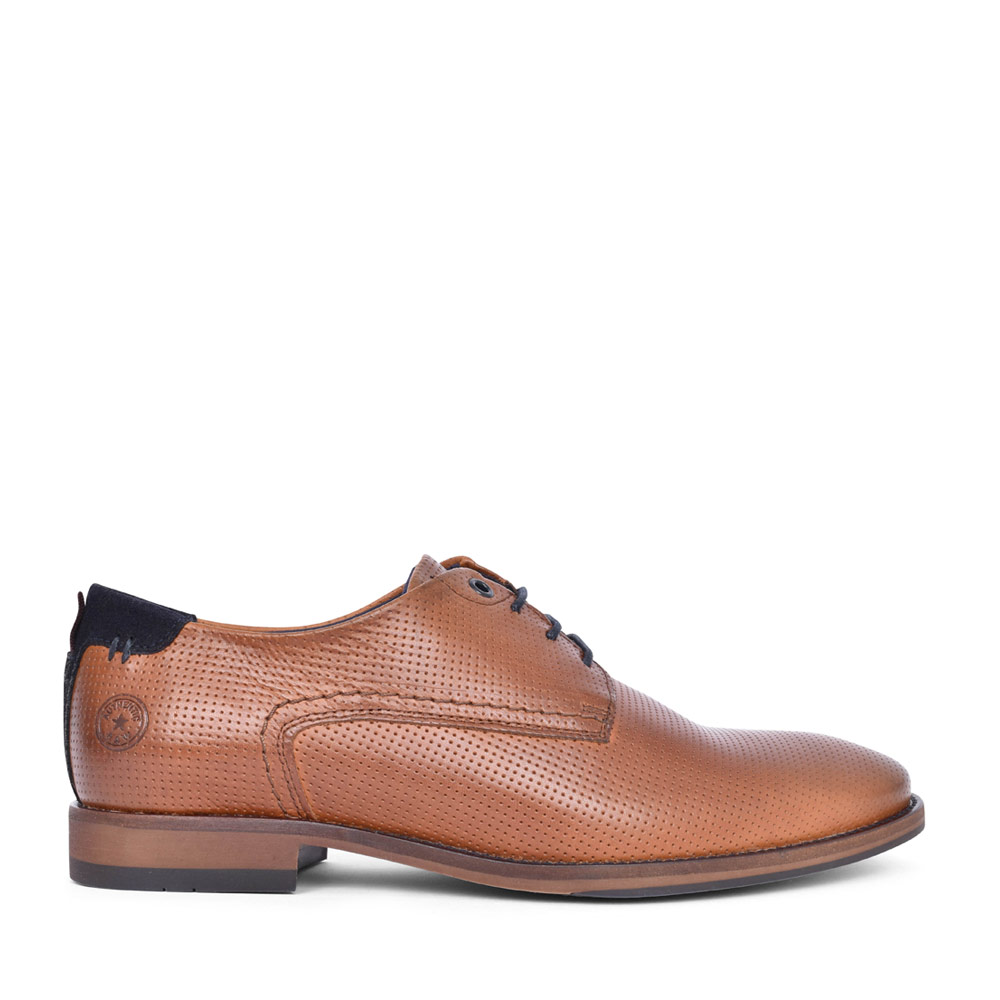LADIES CAPPA LACED SHOE in TAN