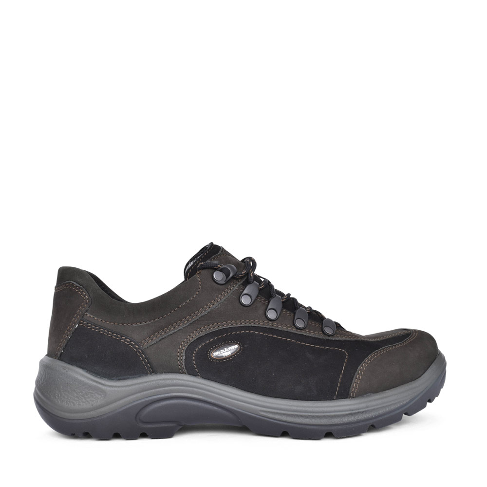 MENS 415901 HAYO H-FIT LACED SHOE in BLACK