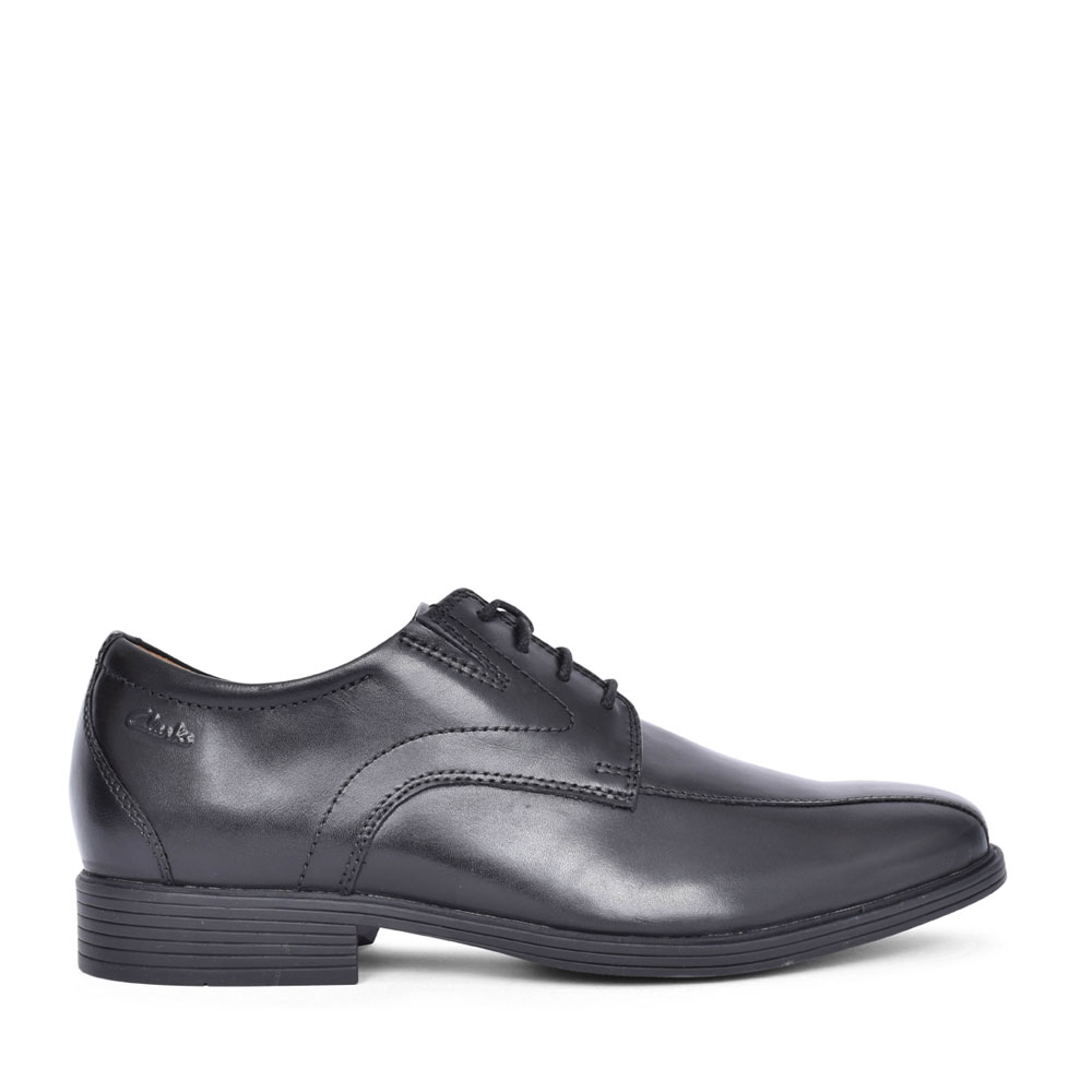 MEN'S WHIDDON PACE LEATHER G FIT LACE UP SHOE in BLK LEATHER