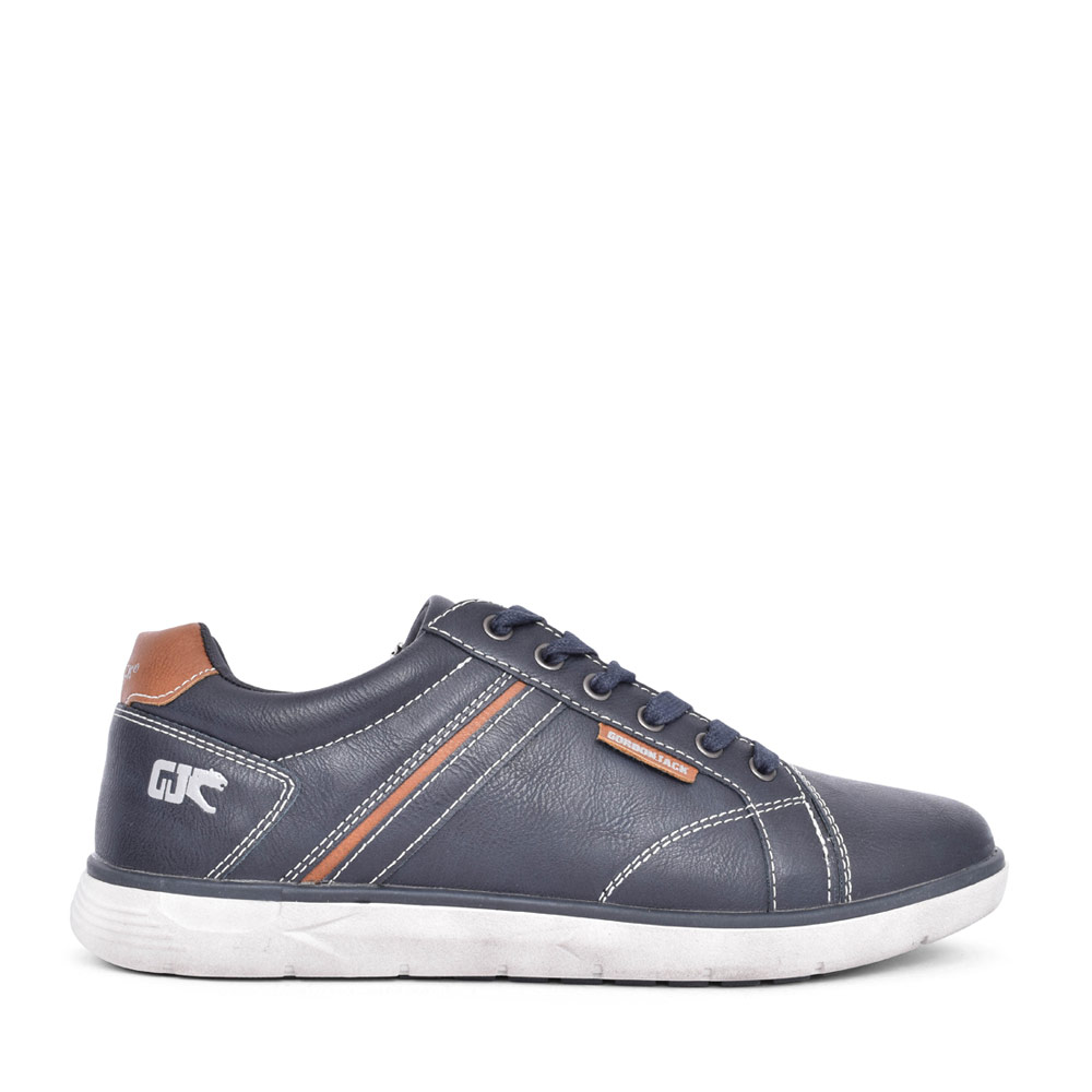 MENS BOSTON LACE UP SHOE in NAVY