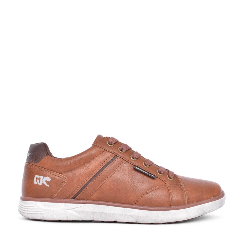 MENS BOSTON LACE UP SHOE in TAN