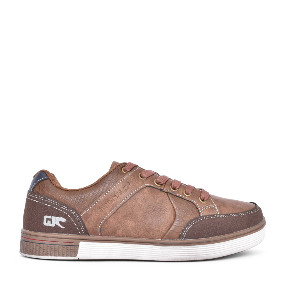 MENS SAN FRAN LACE UP SHOE in BROWN