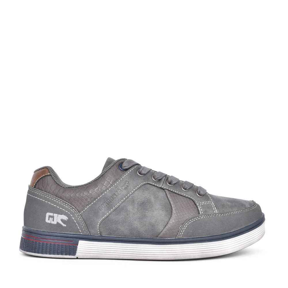 MENS SAN FRAN LACE UP SHOE in GREY