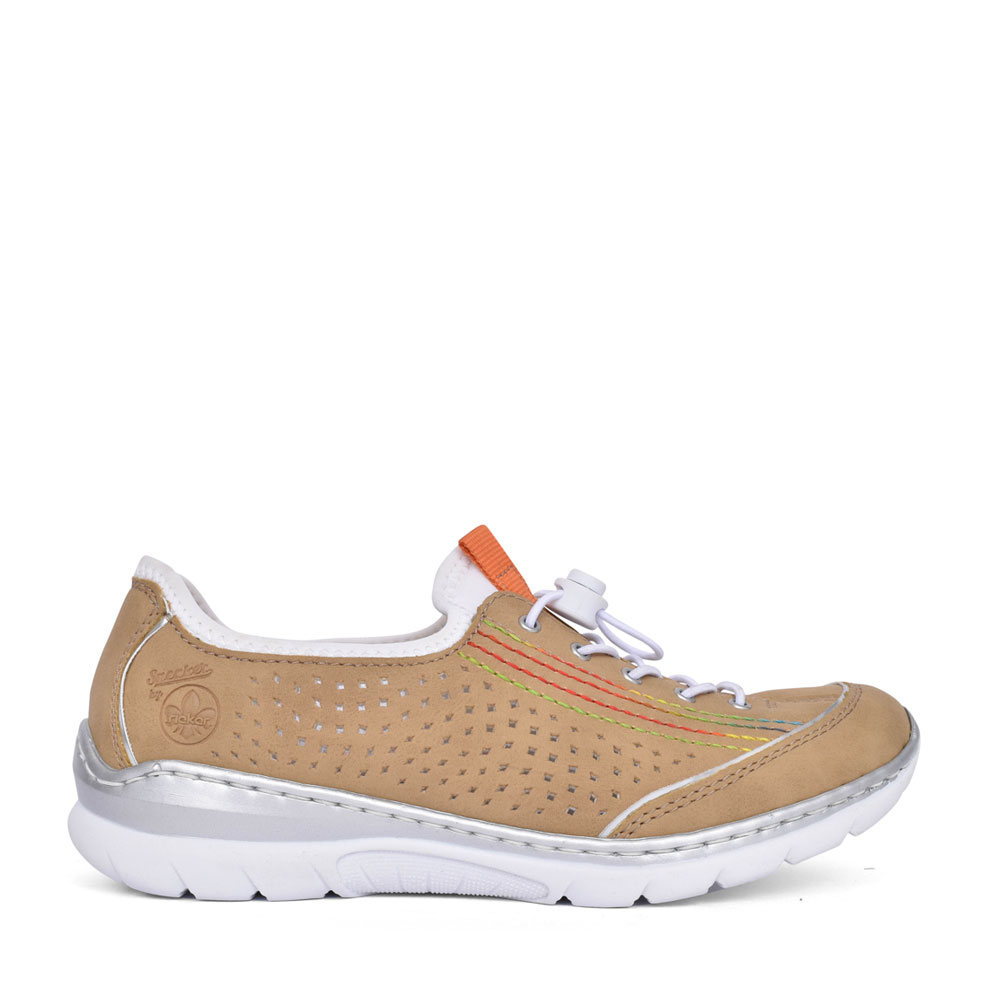 LADIES L32Q5 SLIP-ON SHOE in BEIGE