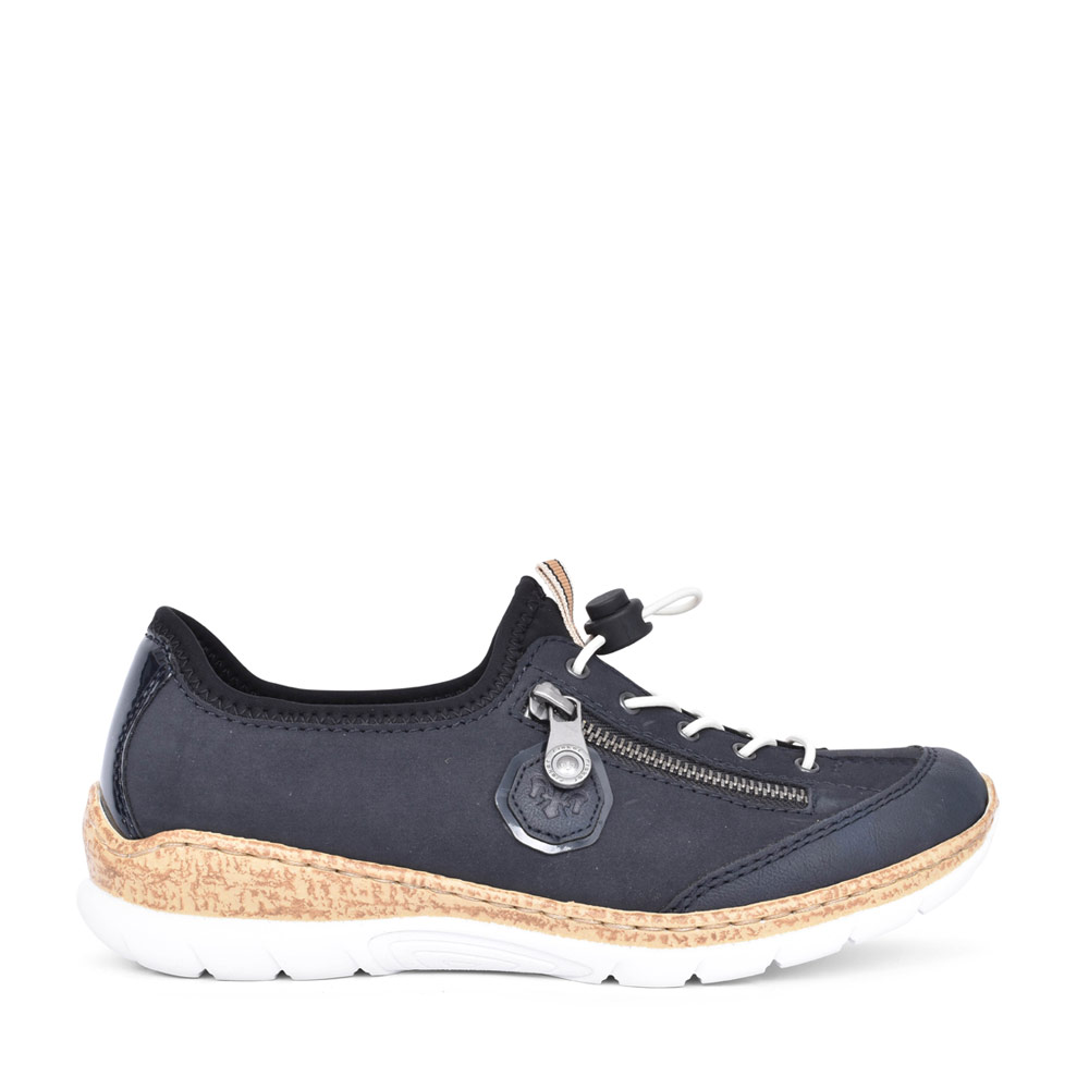 LADIES N4263 SLIP-ON SHOE in NAVY