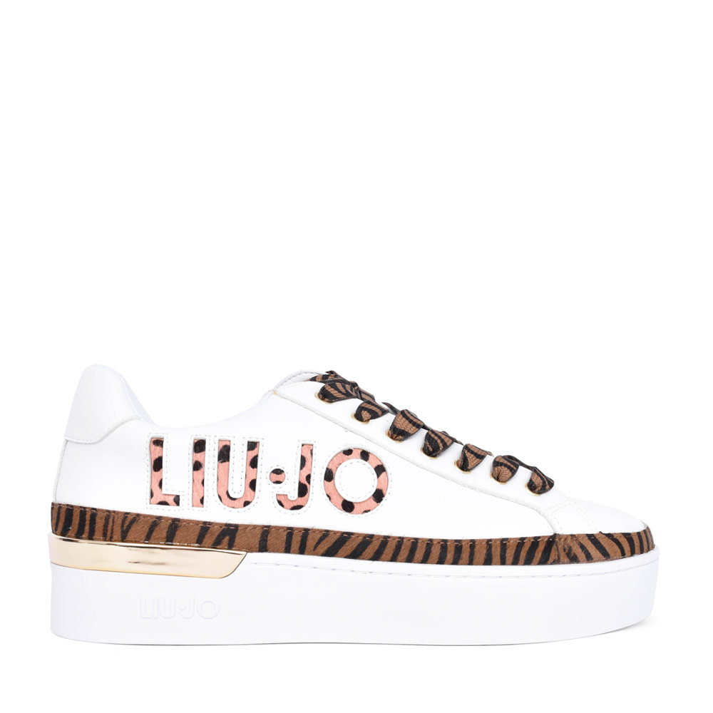 LADIES SILVIA 22 LACED SNEAKER in WHITE