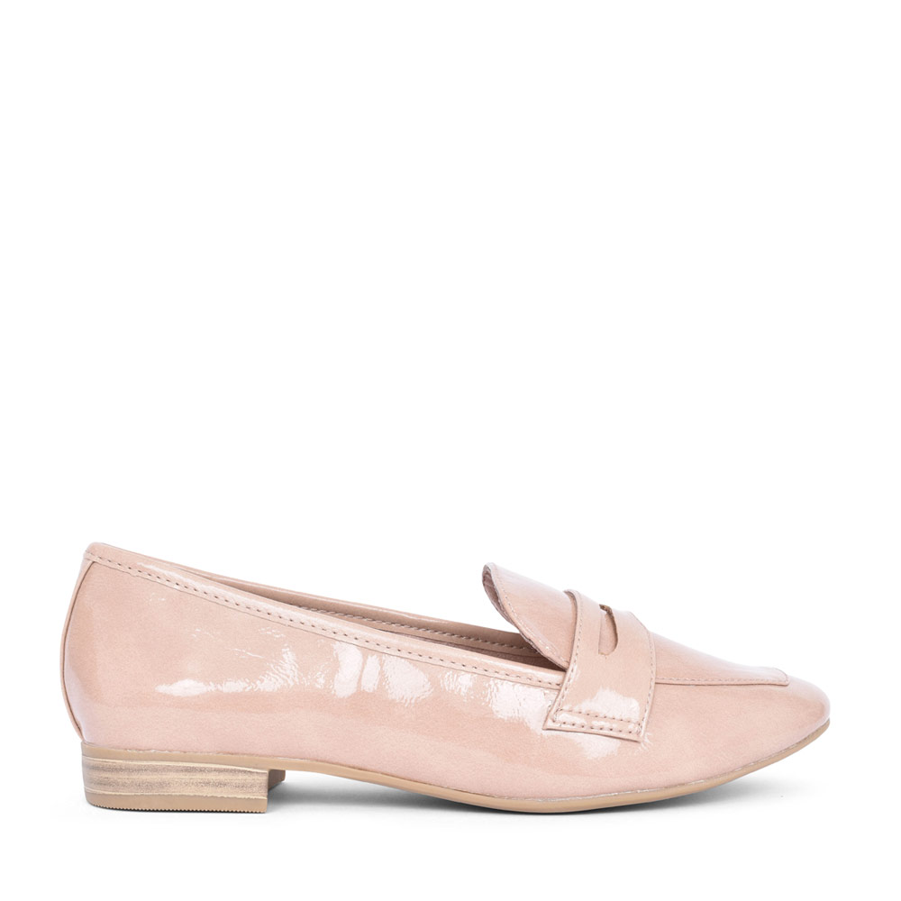LADIES 2-24201 SLIP ON SHOE in ROSE