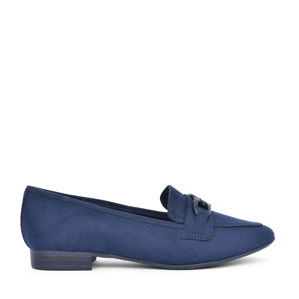 LADIES 2-24205 SLIP ON SHOE in NAVY