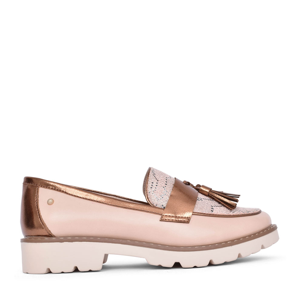 LADIES BASTAM SLIP ON SHOE in ROSE