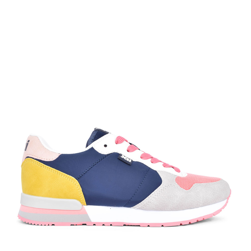LADIES 42402 LACE UP TRAINER in NAVY