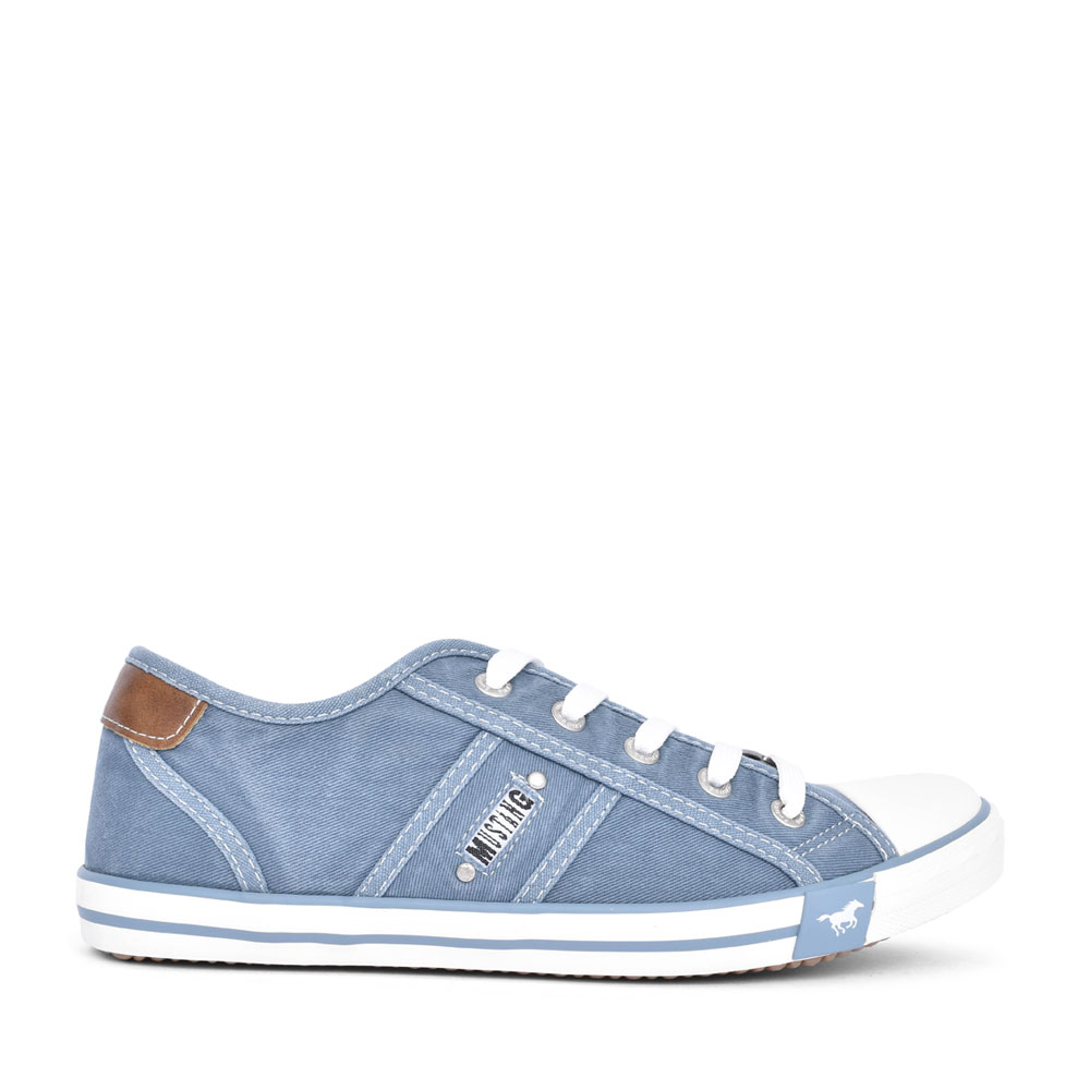 LADIES 1099302 LACE UP SHOE in BLUE