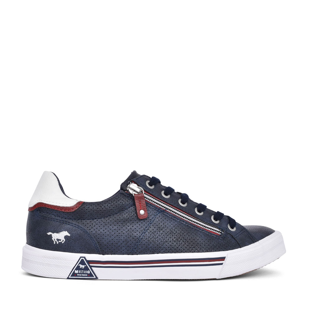 MENS 4162301 LACE UP SHOE in NAVY