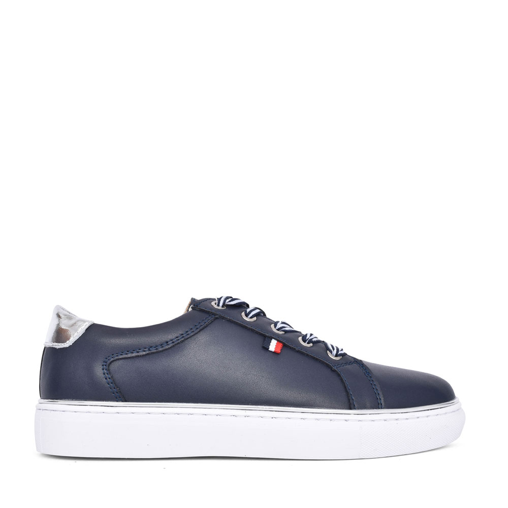 LADIES 410 LACE UP SHOE in NAVY