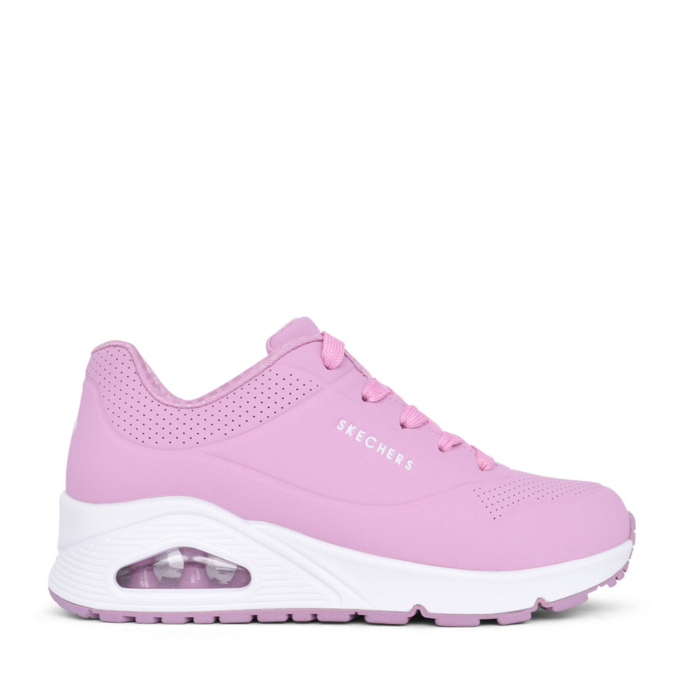 GIRLS 310024L UNO STAND ON AIR LACED TRAINER in PINK