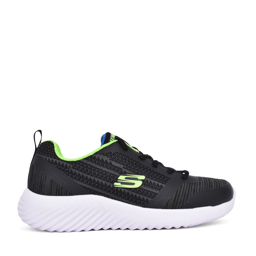 BOYS 98303L BOUNDER LACE UP TRAINER in BLACK