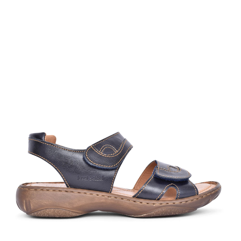 LADIES 76444 DEBRA FULLY ADJUSTABLE SANDAL in NAVY