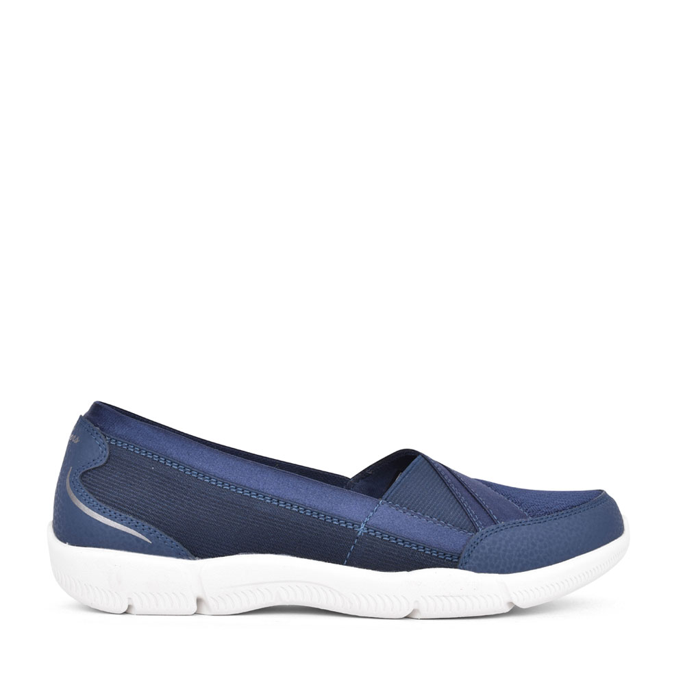 LADIES 100026 BE LUX DAYLIGHTS SLIP ON SHOE in NAVY