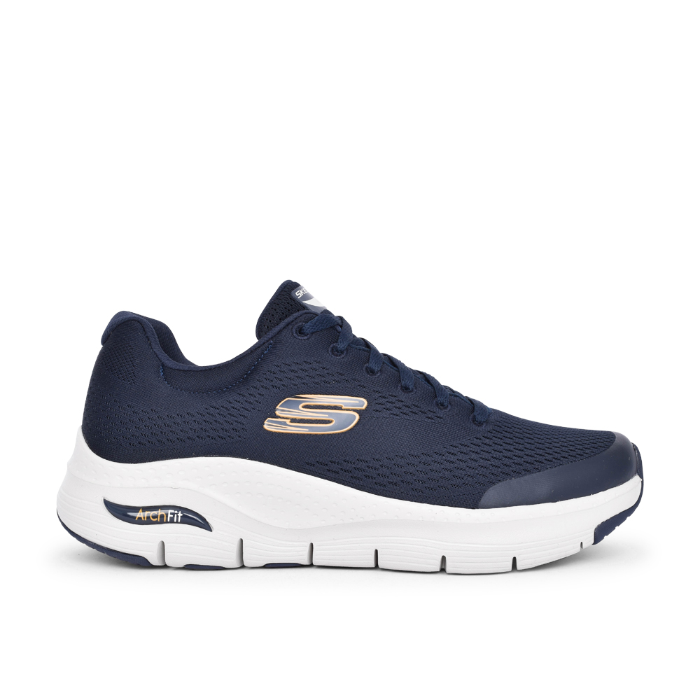 MENS 232040 ARCH FIT LACE UP TRAINER in NAVY