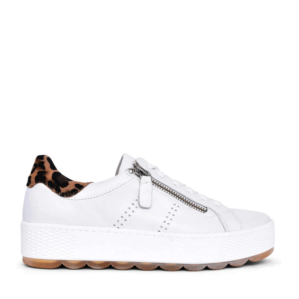 LADIES QUENCH 66.538 LACE UP SHOE in WHITE
