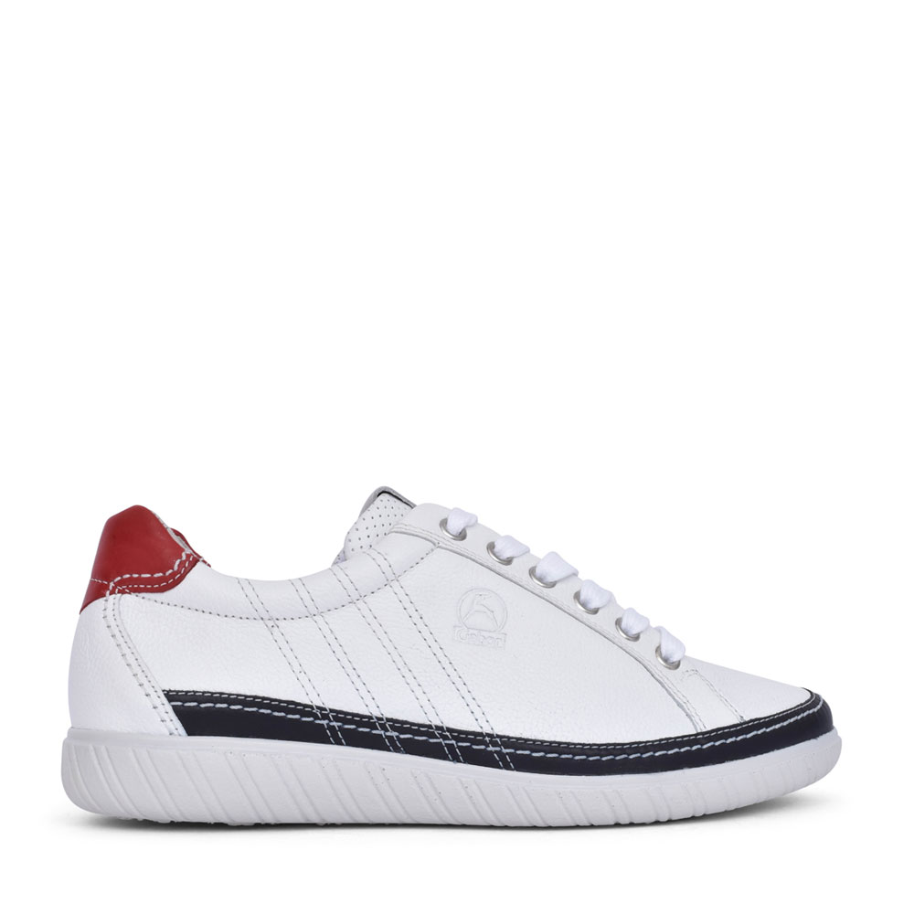 LADIES 66.458 ARMULET LACE UP SHOE in WHITE