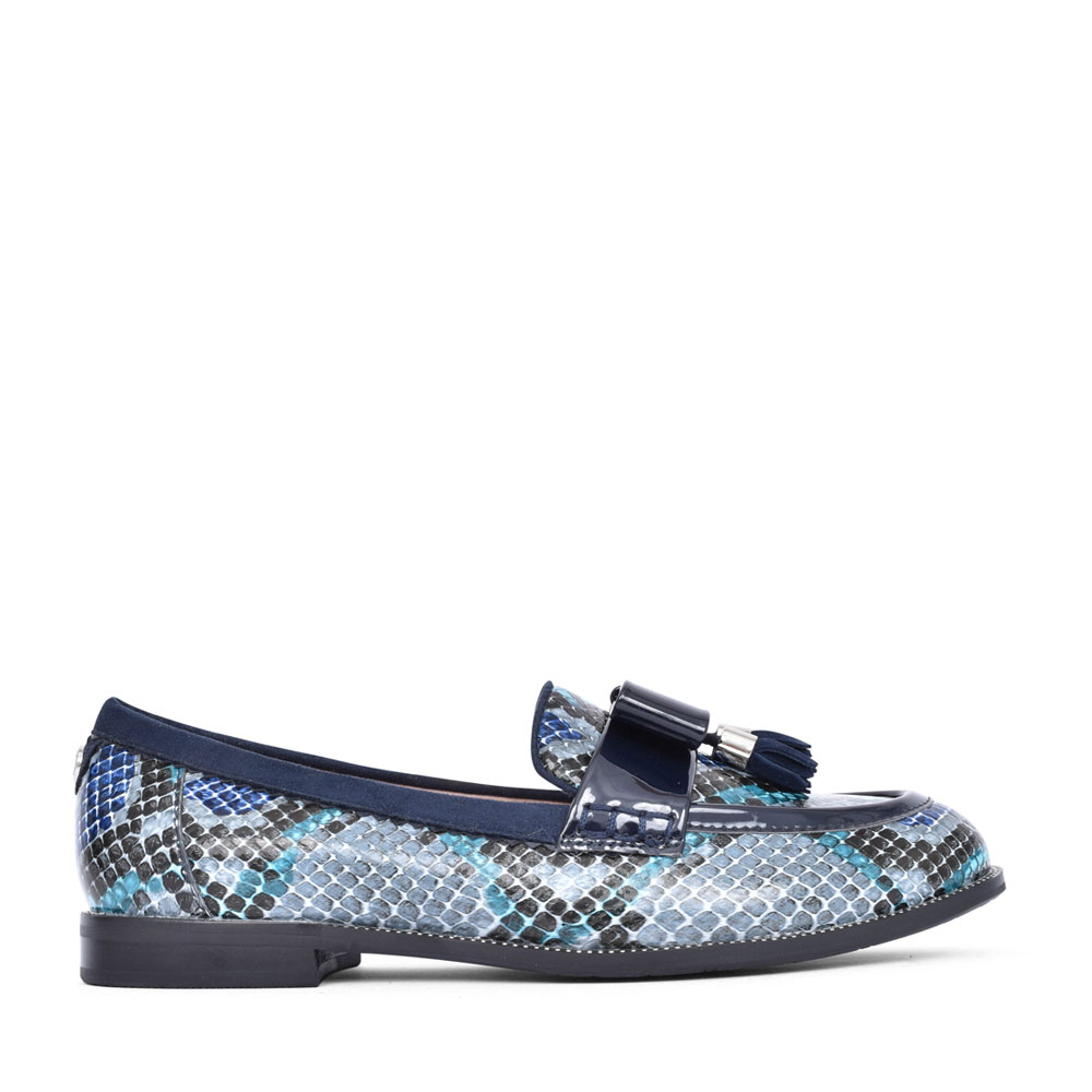 LADIES ESTELLA SLIP ON SHOE in BLUE