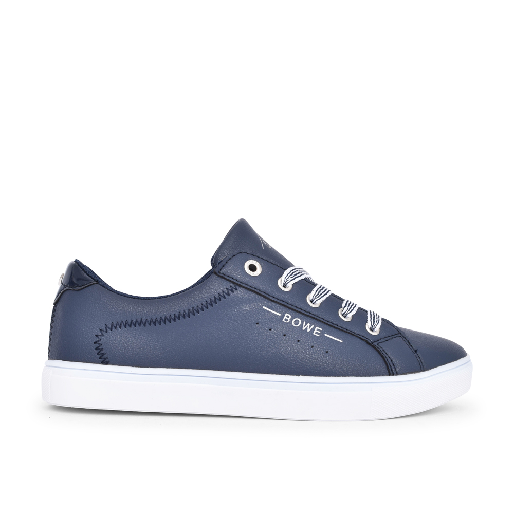 LADIES WOODMAN LACE UP SHOE in NAVY